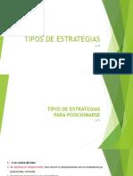 APUNTE 4 TIPOS DE ESTRATEGIAS FAECC 2018