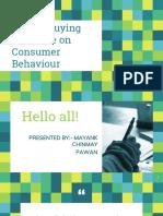 Mayank_chinmay_pawan_Family Buying Influence on Consumer Behaviour.pptx
