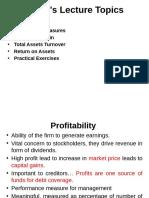 Analysis of Financial statement