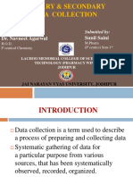 secondary data and primary data