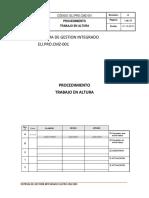 ELI.PRO.CMZ-001 PROCEDIMIENTO DE TRABAJO EN ALTURA