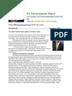 Pa Environment Digest Dec. 6, 2010