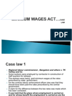Case+Law +Minimum+Wages+Act