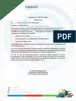 COMISARíA  DE CONSTRUCCIONES
