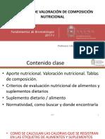 7 Clase COMPOSICIÓN NUTRICIONAL