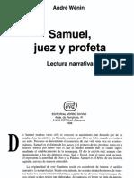 89+-+Andre+Wenin+-+Samuel,+Juez+Y+Profeta+(Cuadernos+Biblicos)