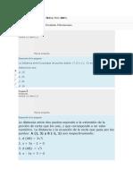 EVALUACION TAREA algebra y geometria