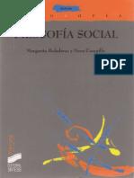 Boladeras, M. y Campillo, N. - Filosofia social Ed. Sintesis 2001