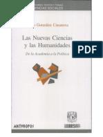 P. Gonzalez Casanova - Las Nuevas Ciencias y Las Humanidades 1-240