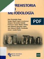 234120618 La Prehistoria y Su Metodologia Manual