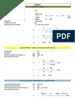 CALCULO DOTACION DEL AGUA Y DOSIFICACION CLORO PAQUETE E 30