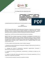 Lei Ordinária 8360 2013 de Campos dos Goytacazes RJ