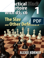 A Practical Black Repertoire with d5, c6, Vol. 1 - The Slav and Other Defences (Kornev 2017).pdf