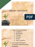 Disaster Assessment