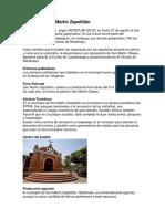 Historia de San Martín Zapotitlán