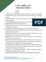 temario toxicologia