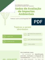 AULA -Métodos de Avaliação de Impactos Ambientais.pdf