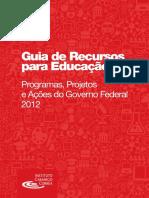 Guia de Recursos para a Educação 2012 Completo