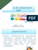 12- Proyectos  de comprensión ZC MGT