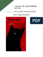 Análisis de lectura El gato negro