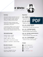 m.irwin 2.2020 Resume g.design