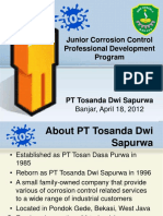 Junior Corrosion Control Professional Development Program