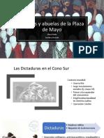 Madres y abuelas de la Plaza de Mayo