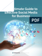 Vendasta - The Ultimate Guide to Effective Social Media for Business