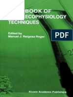 Handbook of Plant Ecophysiology Techniques (2001)