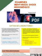 Complementarios y Pronostico Shock Cardiogenico