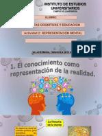 TEORÍAS COGNITIVAS Y EDUCACIÓN