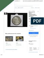 Moneda 50 Soles - Sesquicentenario Independencia Del Perú - S