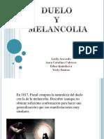 DUELO Y MELANCOLIA