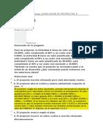 Evaluación Clase 1 Evaluacion de Proyectos II