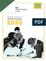 Estrategias institucionales. Pensar y transformar la institución