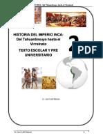 HISTORIA DEL IMPERIO INCA