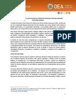 OEA Informe 2020
