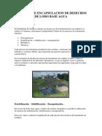 METODOS DE ENCAPSULACION DE DESECHOS DE LODO BASE AGUA2