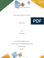 Unidades 1, 2 y 3 Post – Tarea
