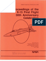 Proceedings of the X15 First Flight 30th Anniversary Celebration