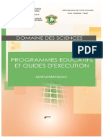 Guide d'exécution  Maths_6e