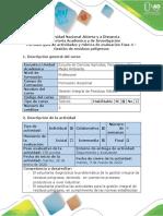 Guía de actividades y rúbrica de evaluación - Fase 4 - Gestión de residuos peligrosos