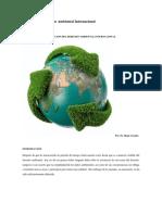 Evolución del Derecho Ambiental