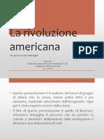 La rivoluzione americana con prefazione