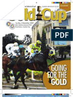 37th PCSO Presidential Gold Cup magazine 2009