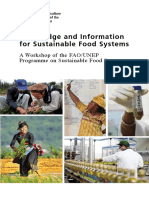 FAO_Knowledge and Information for sustainable food systems