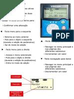 Lista de Parâmetros Inversor Vacon NXP Motor PM_CLIENTE