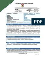 CONTENIDO DERECHOS HUMANOS Y DIH 2020-1