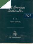 X-15 Flight Manual