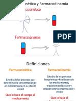 FARMACOCINETCA Y FARMACODINAMIA